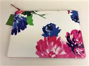 KATE SPADE FLORAL GIA LEATHER CLUTCH POUCH